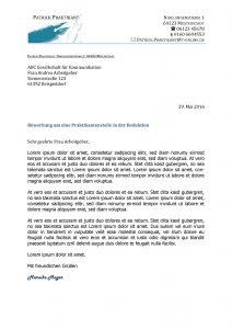 Bewerbung Praktikant optimal Bensheim Praktikum